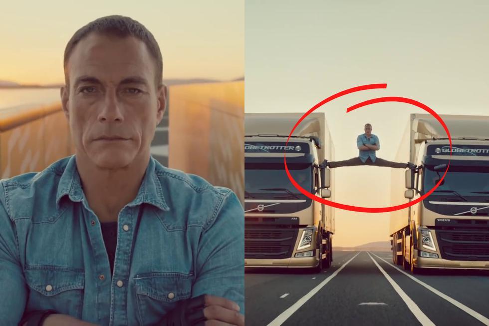 FOTO 1 DE 5 | Jean-Claude Van Damme causó revuelo en 2013 al realizar el 'split' más épico de toda su carrera para un comercial de camiones. | Crédito: Volvo Trucks en YouTube. (Desliza a la izquierda para ver más fotos)