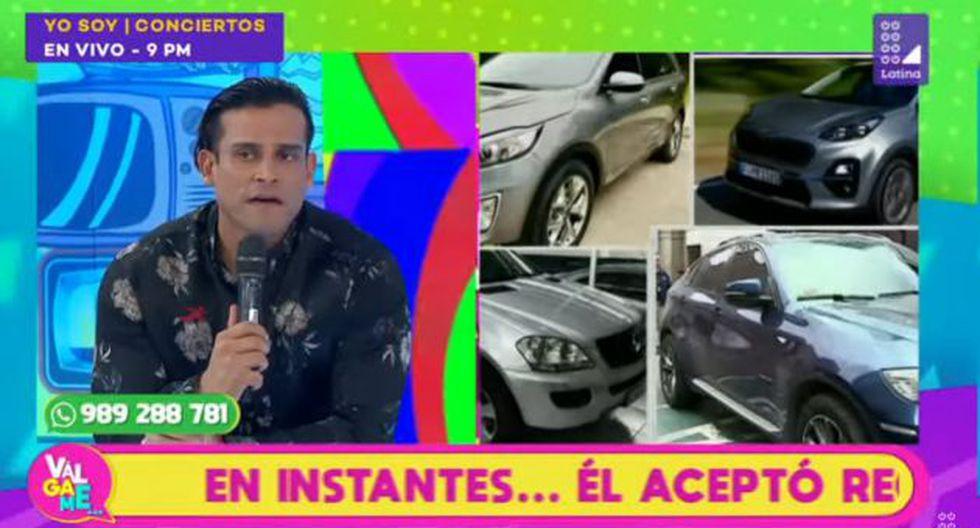 Christian Domínguez se refirió al tema de la camioneta que debería devolver Isabel Acevedo. (Imagen: Latina)