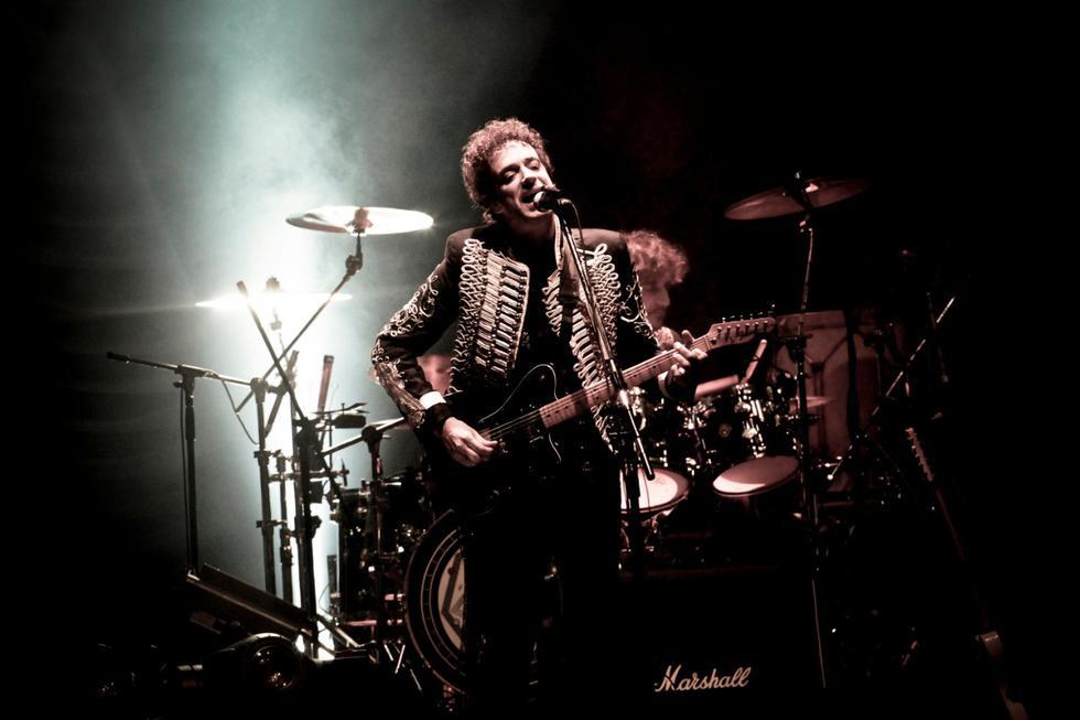 El cantautor argentino y ex vocalista de Soda Stereo, Gustavo Cerati, dio su último concierto en el estadio de San Marcos. (Foto: Richard Hirano)
