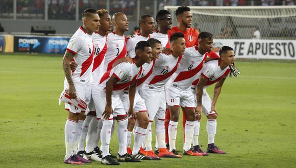 Selección peruana alcanzó puesto histórico en el ránking FIFA. (Foto: El Comercio)