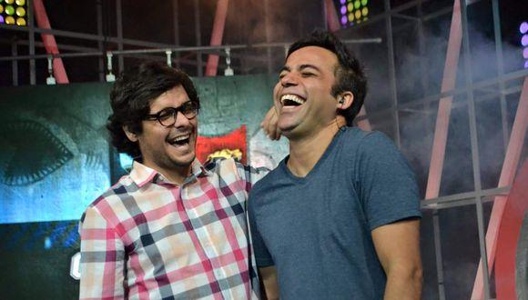 Gian Piero Díaz y Renzo Schuller.