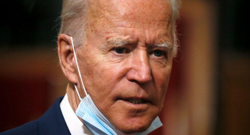 """El candidato demócrata a la presidencia de Estados Unidos, Joe Biden, criticó a Donald Trump este lunes por """"usar"""" al ejército """"contra los estadounidenses"""". (Foto: REUTERS/Jim Bourg)"""