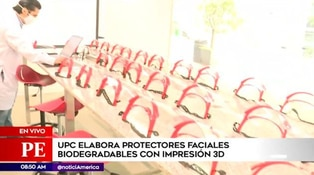 Conocida universidad elabora protectores faciales biodegradables