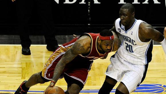 LeBron James nunca pudo disputar una final frente a Kobe Bryant | Foto: AFP