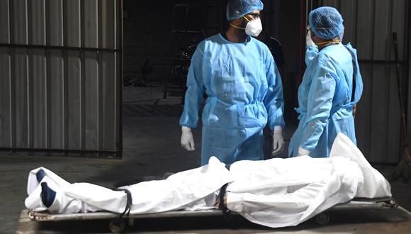 El porcentaje de muertos aumentó en los últimos días en Nueva Delhi, India. (Foto: EFE)