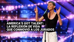 America's Got Talent: la reflexión de una participante con cáncer que conmovió a los jurados