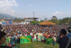 Continúa el diálogo para evitar paro de productores y agricultores de hoja de coca del Vraem
