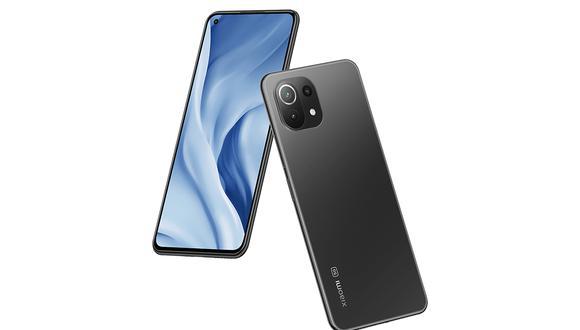 Conoce todas las características del celular 5G de Xiaomi: el Xiaomi Mi 11 Lite 5G. (Foto: Xiaomi)