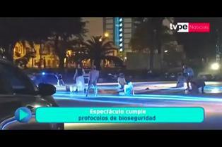 Serpar presenta espectáculo musical para disfrutar desde el auto