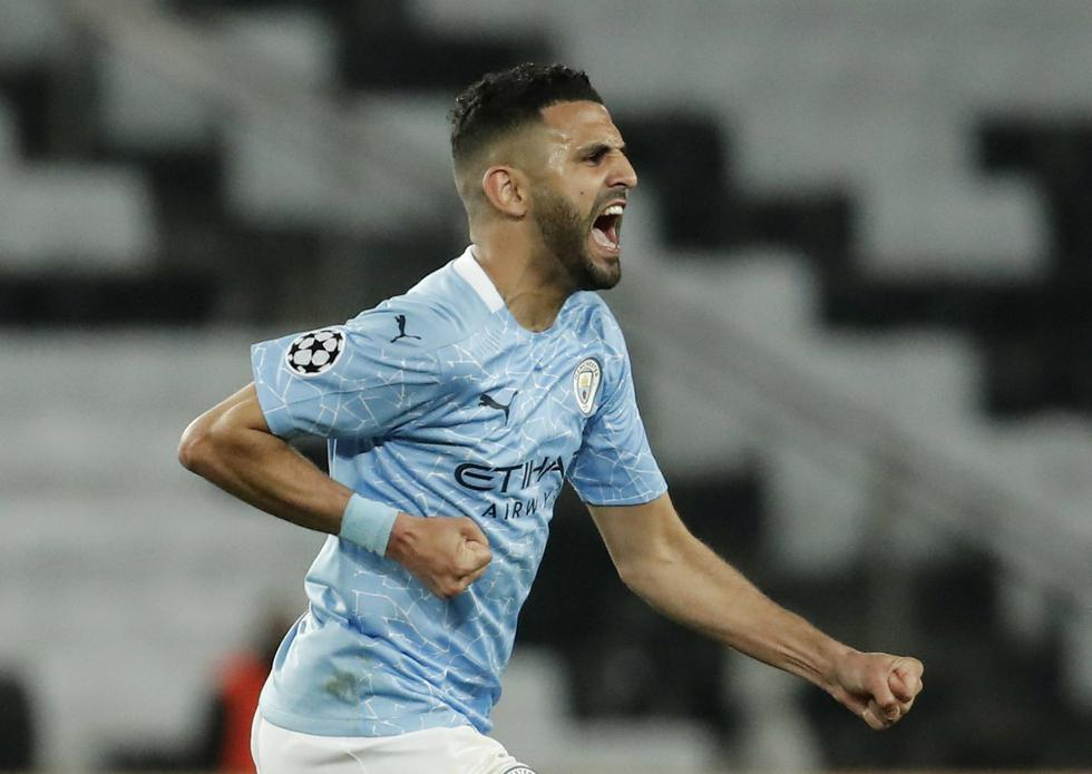 PSG enfrentó al Manchester City por la Champions League