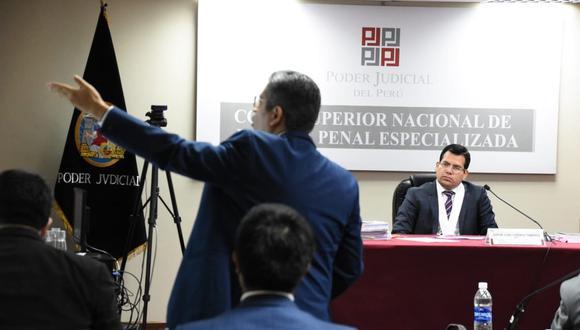 La Corte Superior Nacional Penal Especializada se encarga de las audiencias por el caso Lava Jato. (Foto: Poder Judicial)