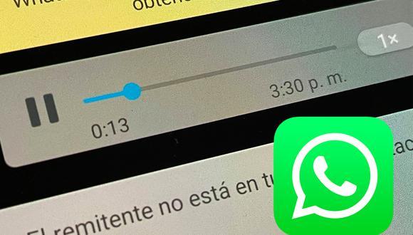 Conoce el sensacional truco para mandar una nota de voz a alguien que te bloqueó en WhatsApp. (Foto: MAG)