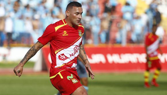 Carlos Neumann, la figura de la victoria de Sport Huancayo. (Foto: Francisco Neyra)