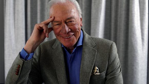 """""""Creo que la jubilación en cualquier profesión es la muerte, así que estoy decidido a seguir luchando"""", afirma  Christopher Plummer, actor que acaba de cumplir 90 años. (Foto: Reuters)"""
