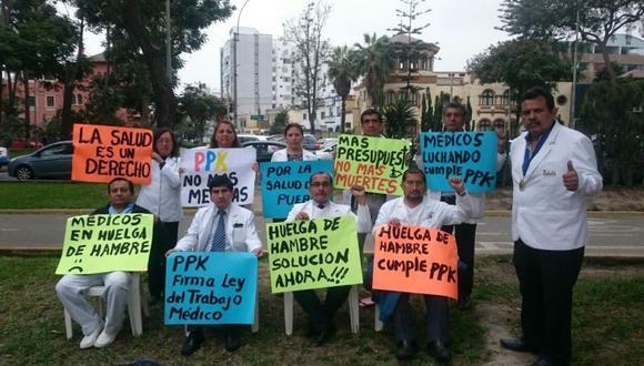El Ministerio de Trabajo y Promoción del Empleo notificó hoy al Minsa que declaró infundado el recurso de reconsideración interpuesto por la Federación Médica Peruana contra la resolución declaró la ilegalidad de la mencionada huelga. (Difusión)