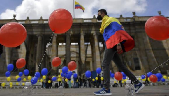 Coronavirus en Colombia | Últimas noticias | Último minuto: reporte de infectados y muertos hoy, viernes 16 de octubre del 2020 | Covid-19 | (Foto: Raul ARBOLEDA / AFP).