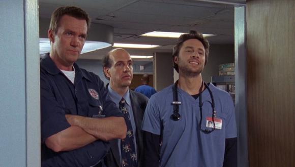 """Fallece a los 56 años Sam Lloyd, actor de la serie """"Scrubs"""". (Foto: NBC)"""