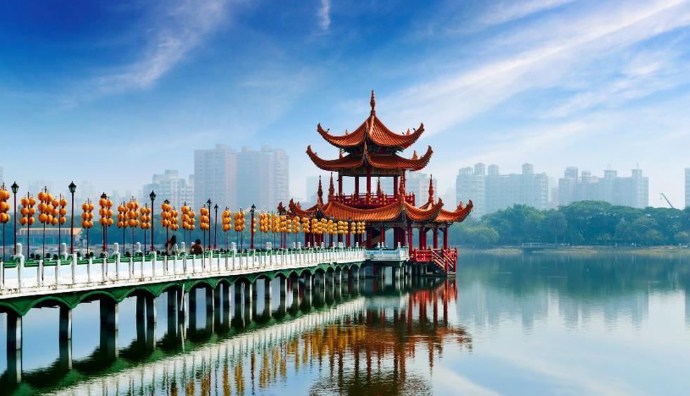 La laguna del Loto está en el municipio de Kaohsiung, en China. (Foto: iStock)