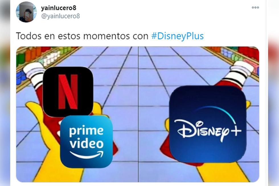 Los mejores memes a pocas horas del lanzamiento oficial de Disney+| Foto: @yainlucero8