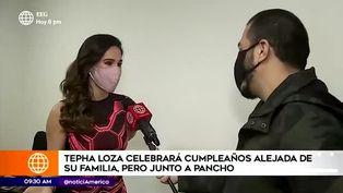 Spheffany Loza celebra su cumpleaños junto a Pancho Rodriguez