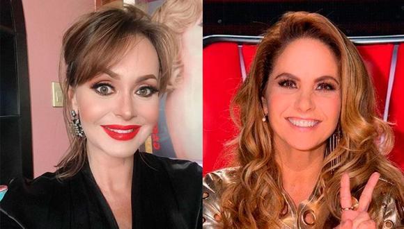 """Ambas actrices no tienen una buena relación desde el año 2010 cuando trabajaron en """"Soy tu dueña (Foto: Gaby Spanic / Lucero / Instagram)"""