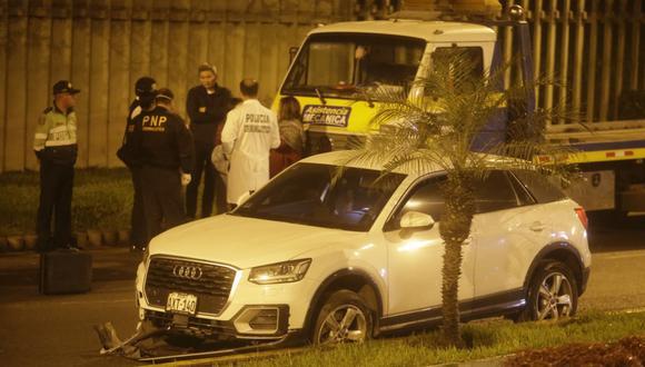 Mario Fernández frustró el secuestro de su hija en La Molina tras persecución. Ella fue interceptada cuando circulaba a bordo de su auto cerca del centro comercial Molicentro. (Foto: Andrés Paredes)