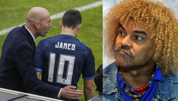 'El pibe' habló acerca de la situación de James Rodríguez en Real Madrid y le aconsejó salir del club merengue para poder volver a su mejor nivel.