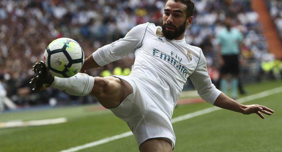 El lateral derecho Dani Carvajal tiene una cláusula de rescisión de 350 millones de euros. (Foto: AFP/Reuters)