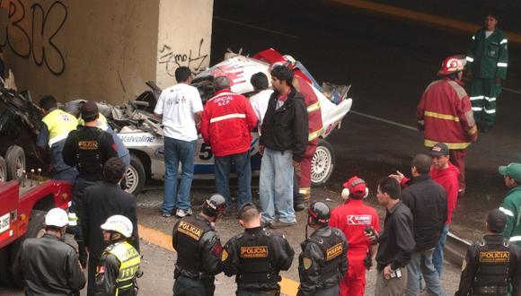 Moquegua: tres murieron tras ser arrollados por auto de carrera