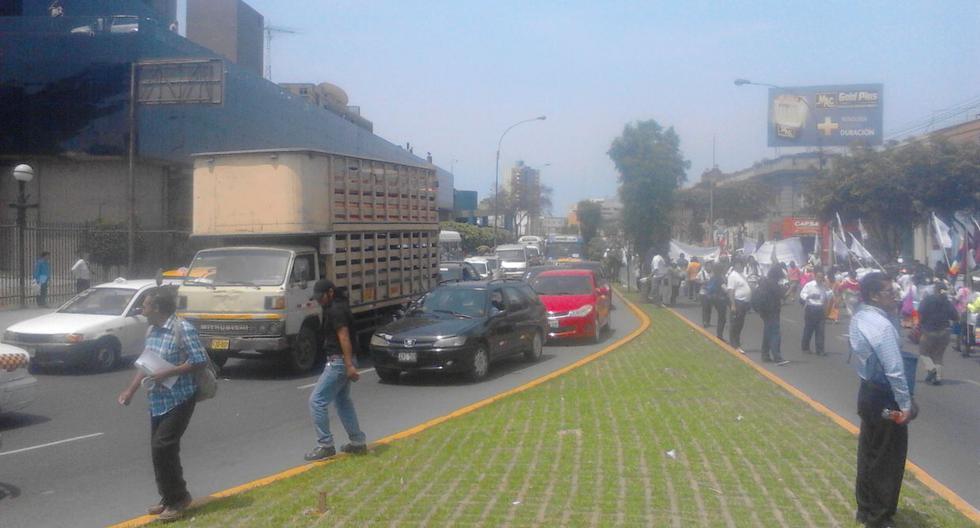 Cumbre de los Pueblos: caos por marcha en centro de Lima[FOTOS] - 5