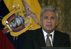 Lenín Moreno vincula motines en Ecuador al crimen organizado y el narcotráfico