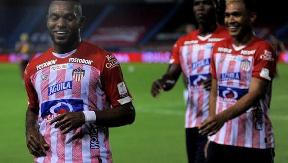 Junior y Unión La Calera se enfrentaron este jueves en partido por la Copa Sudamericana 2020