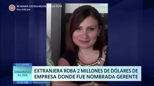 Extranjera es acusada de robar dos millones de dólares de empresa donde fue nombrada gerenta