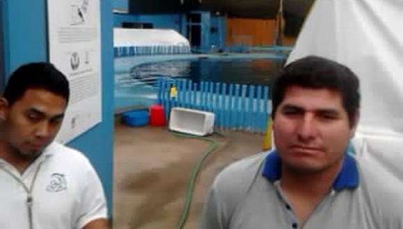 Activistas realizaron vigilia por delfines Yaku y Wayra