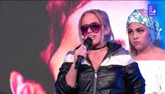 """Yo soy"": imitadoras de Karol G se enfrentan para pasar a la siguiente ronda (Foto: Captura de pantalla)"