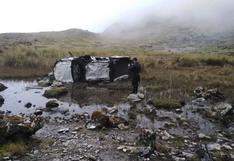 Huancavelica: camioneta cae a un abismo y dejacuatro muertos
