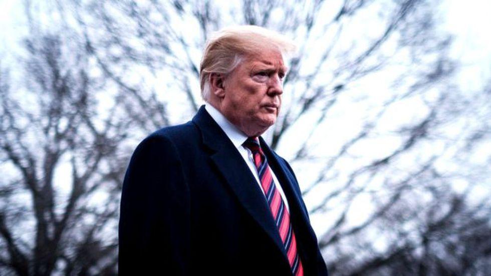 El presidente estadounidense siempre ha dicho que será México quien pague por el muro pero aún no ha aclarado cómo. Foto: Getty images, vía BBC Mundo