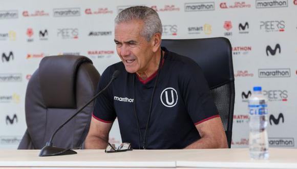 Gregorio Pérez ya no piensa en refuerzos para Universitario de Deportes en esta temporada. (Foto: Universitario de Deportes)