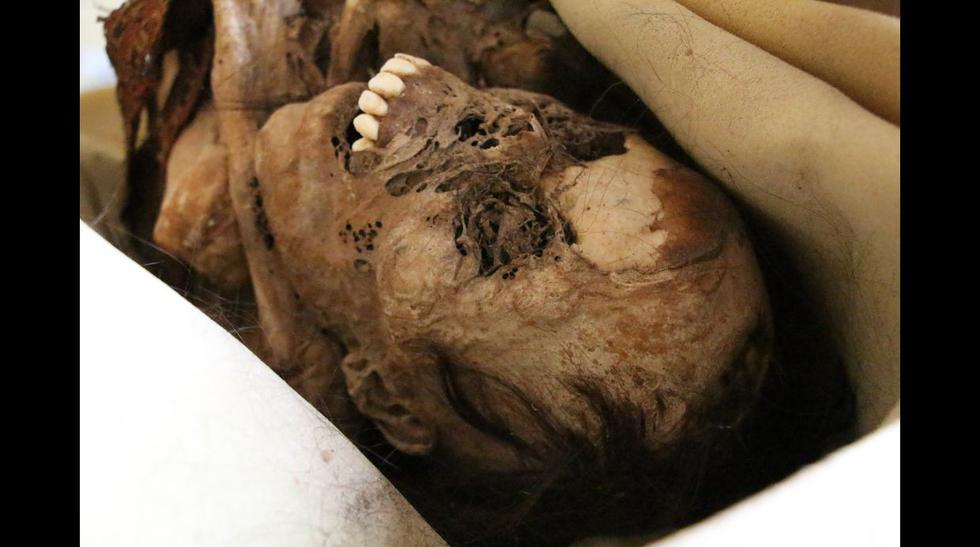 'La momia de Huanchaco' hallada en plena vía pública [FOTOS] - 4