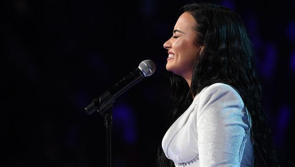 Demi Lovato envía mensaje de agradecimiento tras su presentación Grammy 2020. (Foto: AFP)