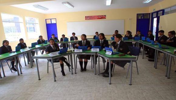 Colegio Mayor Presidente del Perú cumplió cinco años de fundado