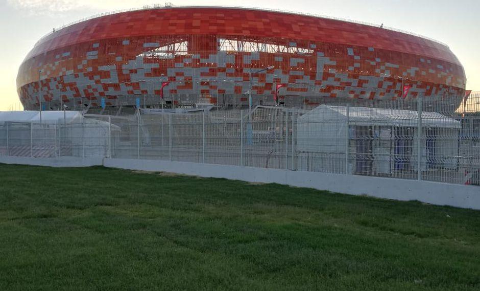 Mordovia Arena, el escenario del debut mundialista peruano.