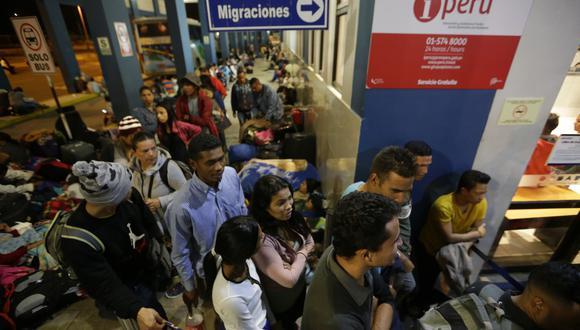 Año 2018: los hitos de la migración venezolana en el Perú