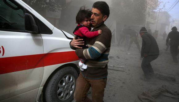 "Estados Unidos: ""Ataques contra civiles en Siria deben terminar inmediatamente"". (AFP)."