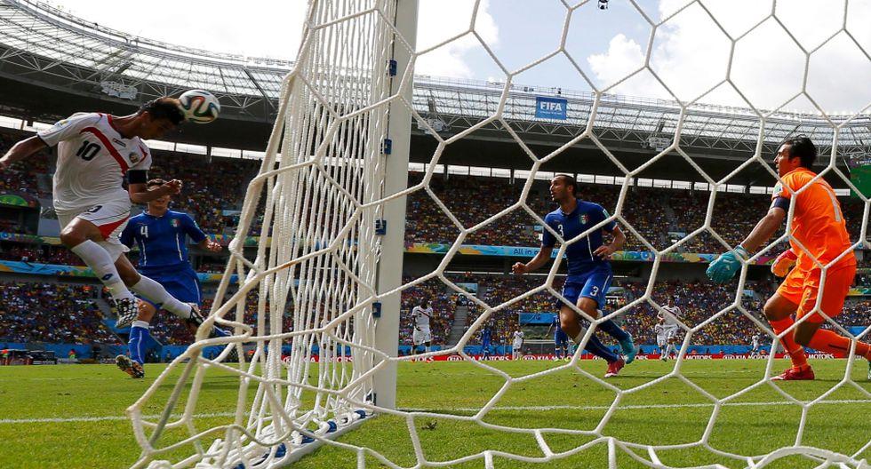 Italia vs. Costa Rica: así fue el gol de cabeza de Bryan Ruiz - 3
