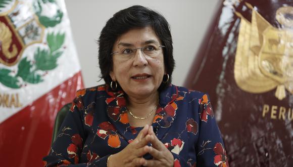 Marianella Ledesma lamentó el deceso del magistrado del TC Carlos Ramos Núñez y envió sus condolencias a sus familiares. (Foto: Archivo de GEC)