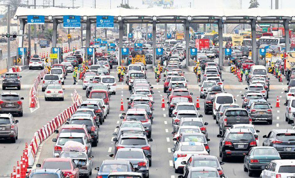 La tarifa de los peajes de Rutas de Lima en la Panamericana Norte y Sur se elevará de S/5 a S/5,50. (Juan Ponce / Archivo)