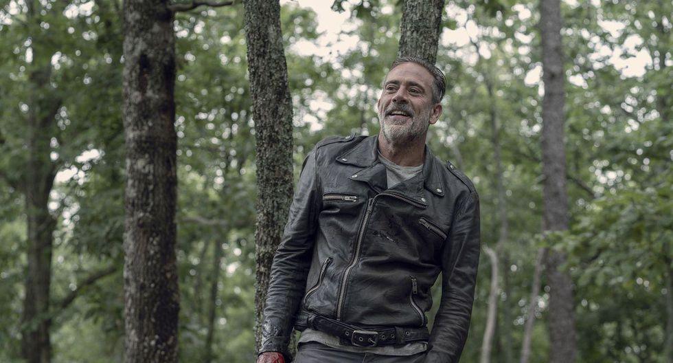 """El encuentro de Negan (Jeffrey Dean Morgan) con los Whisperers resultó ser el momento más ligero en """"The Walking Dead"""" 10x06. Fuente: AMC/ Fox."""