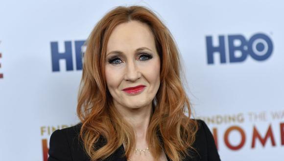 JK Rowling, en el punto de mira por sus opiniones sobre identidad de género (Foto: AFP)