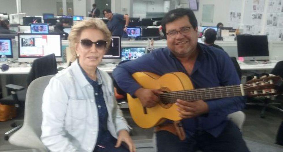 Cecilia Bracamonte celebrará 55 años de vida el Día de la Canción Criolla. (foto. El Comercio)